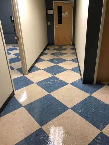 Floor Stripping by Exclusive Cleaning Services LLC